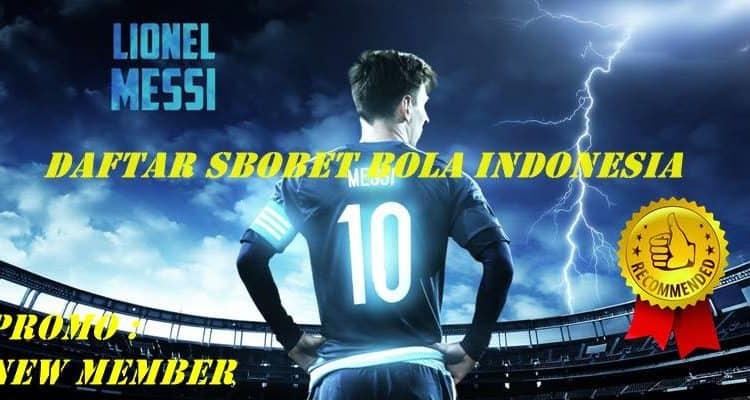 Cara Daftar SBOBET Bola Indonesia Yang Praktis